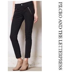 Pilcro Moto Ankle Zip Jeans